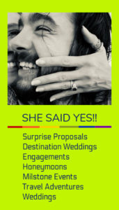 she said yes proposals and engagement