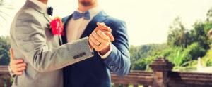 same sex wedding suits