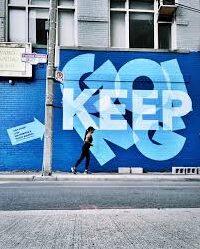 street art by strange love coffee shop